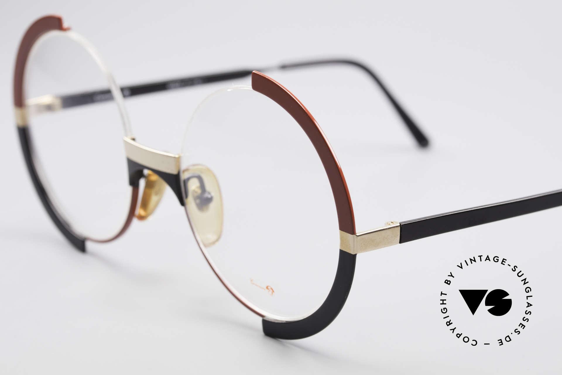 Casanova FC4 Kunstvolle Vintage Brille, eigentlich ein Museumsstück, da Brillen-Kunstwerk, Passend für Damen
