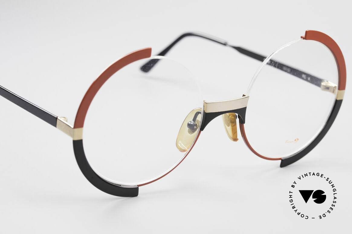 Casanova FC4 Kunstvolle Vintage Brille, ungetragen, NOS (wie alle unsere vintage Brillen), Passend für Damen
