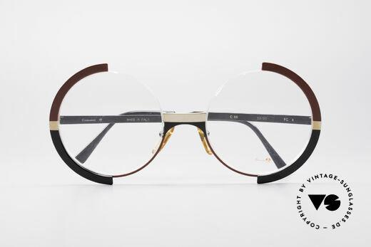 Casanova FC4 Kunstvolle Vintage Brille, KEINE RETROBRILLE, sondern ein altes ORIGINAL, Passend für Damen