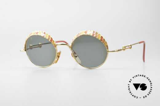Casanova Arché 4 Limited Gold Plated Brille Details