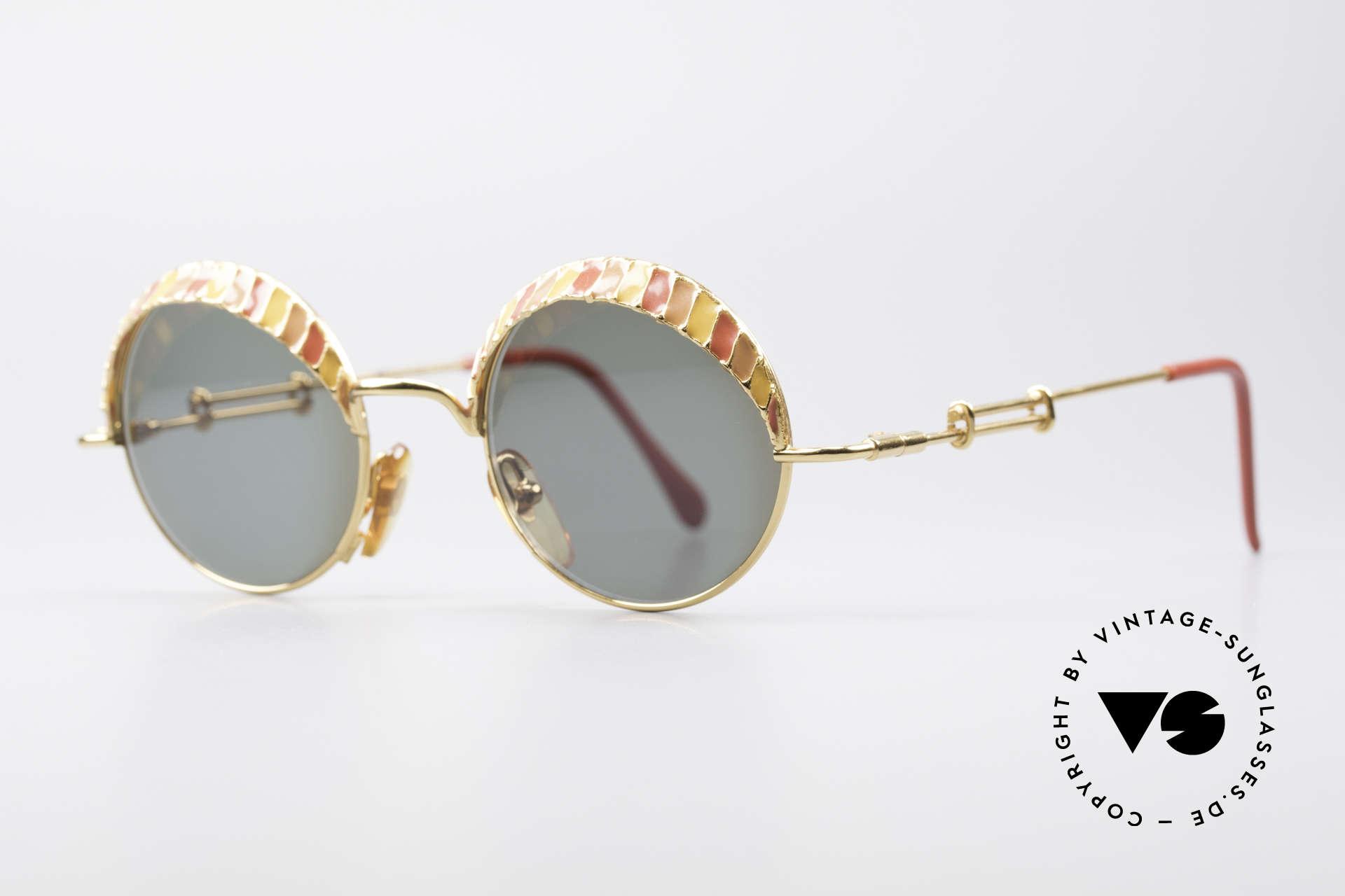 Casanova Arché 4 Limited Gold Plated Brille, Arché-Serie = kostbarsten Kreationen von Casanova, Passend für Herren und Damen