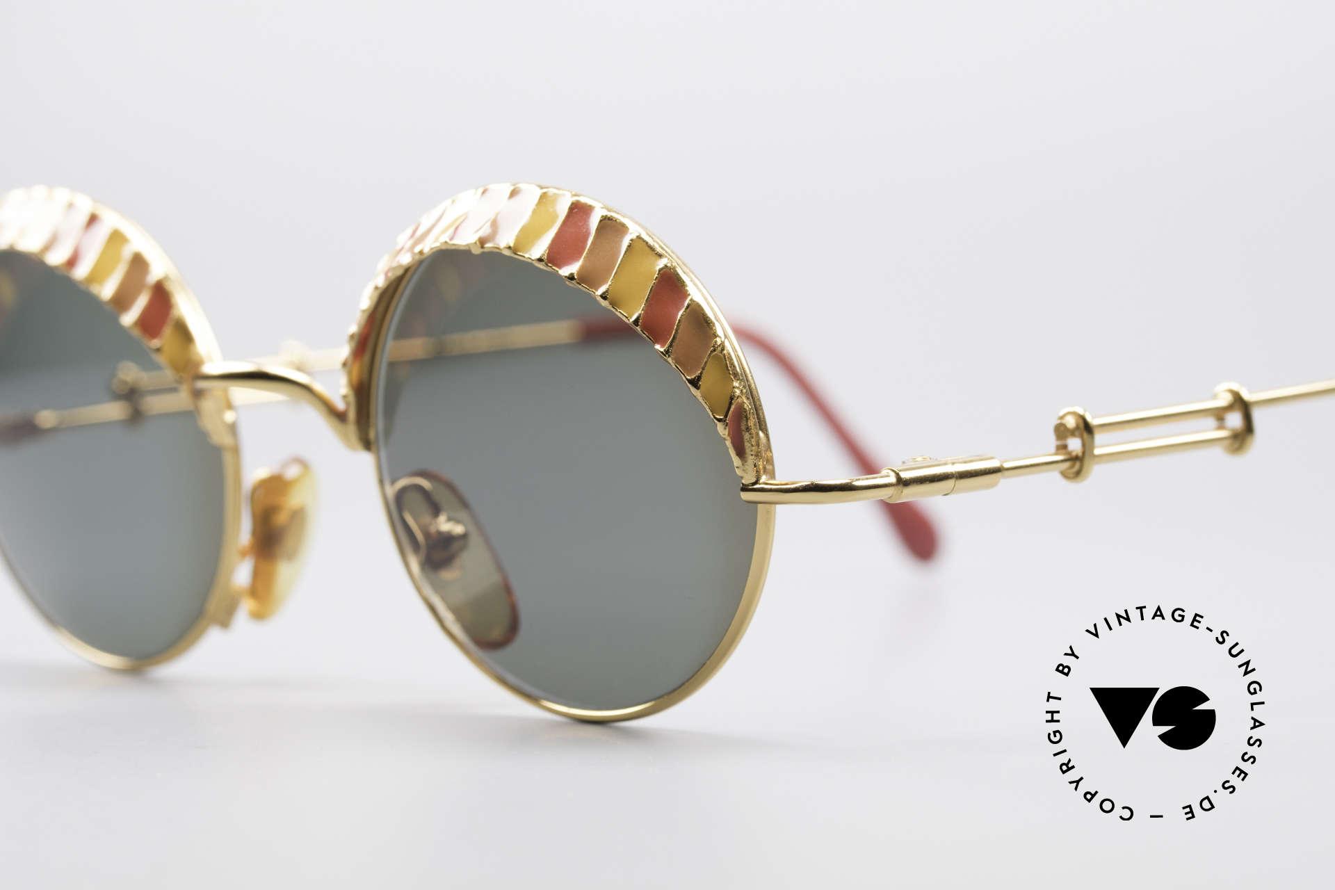 Casanova Arché 4 Limited Gold Plated Brille, Sammlerstück in Limitierter Auflage; Nr. 134 von 300, Passend für Herren und Damen