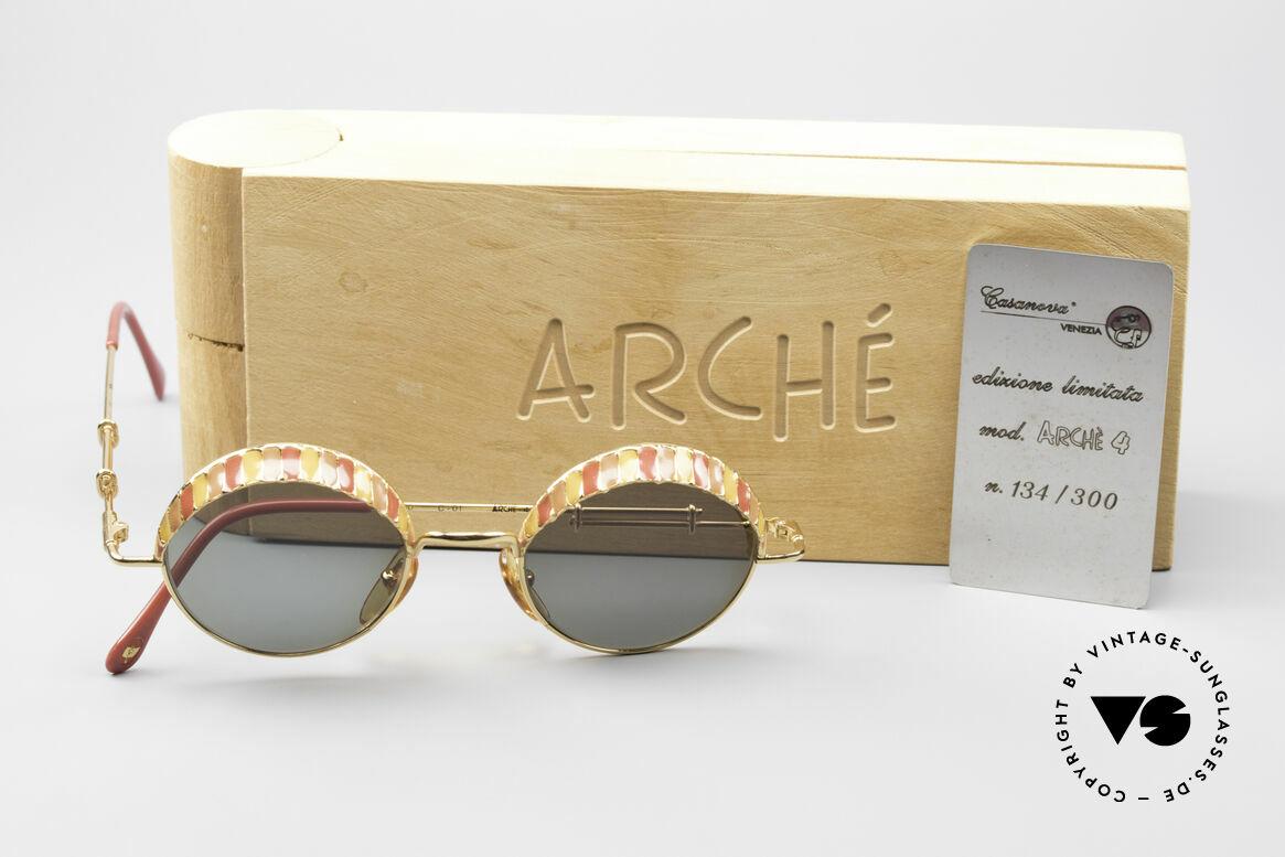 Casanova Arché 4 Limited Gold Plated Brille