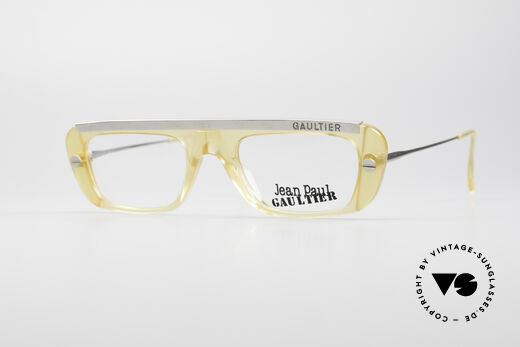Jean Paul Gaultier 55-0771 Markante Vintage Brille Details