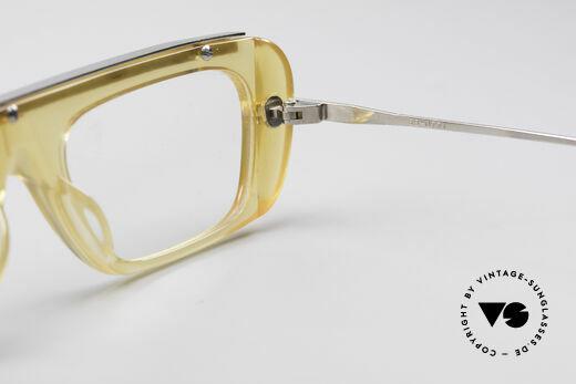 Jean Paul Gaultier 55-0771 Markante Vintage Brille, die Fassung kann natürlich beliebig verglast werden, Passend für Herren und Damen