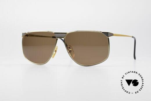 Casanova NM7 Goldplattierte Sonnenbrille Details
