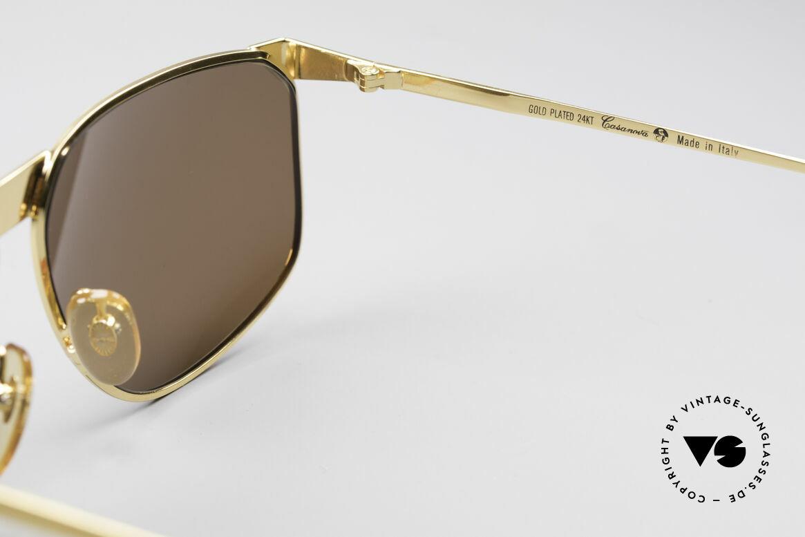 Casanova NM7 Goldplattierte Sonnenbrille