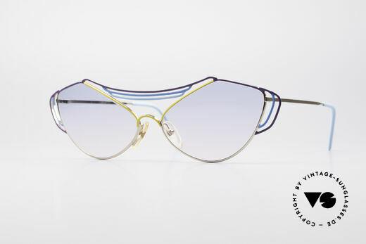 Casanova LC9 80er Kunst Sonnenbrille Details