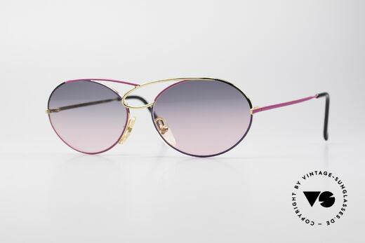 Casanova LC17 Vintage Damen Sonnenbrille Details