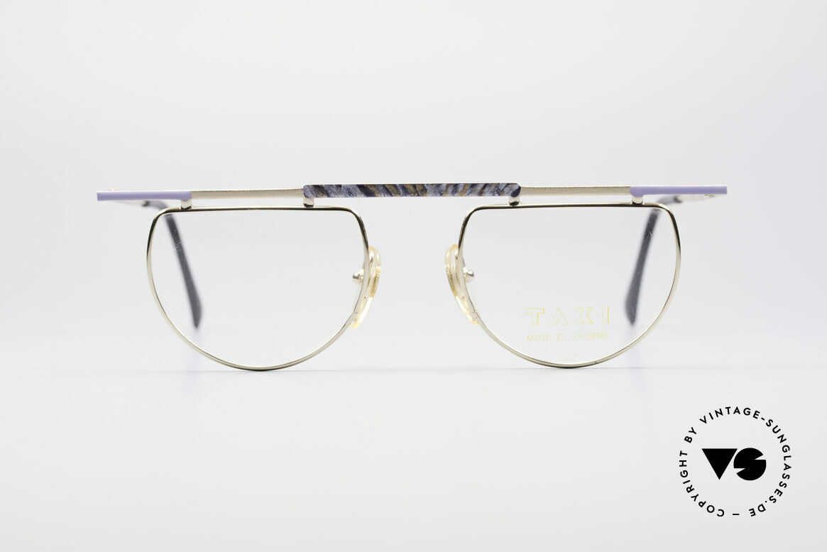 Taxi 223 by Casanova Kunst Vintage Brille, farbenfrohes Design & schwungvolle Rahmengestaltung, Passend für Damen