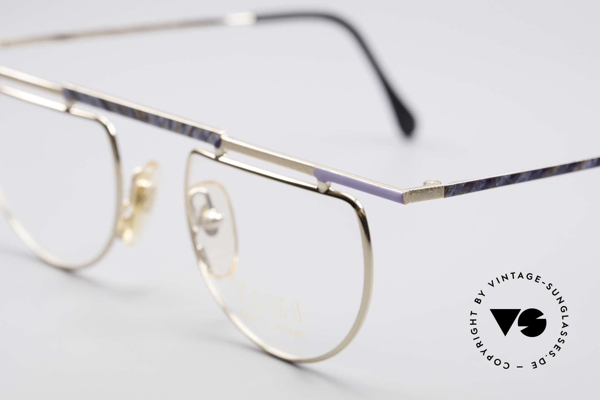 Taxi 223 by Casanova Kunst Vintage Brille, ungetragen (wie alle unsere kunstvollen TAXI Brillen), Passend für Damen