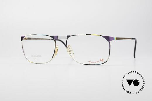 Casanova MC3 24KT Goldplattierte Brille Details