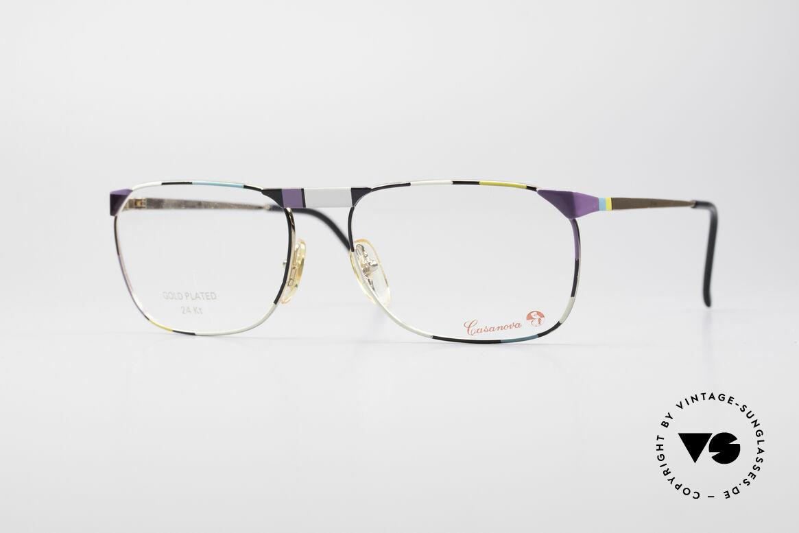 Casanova MC3 24KT Goldplattierte Brille