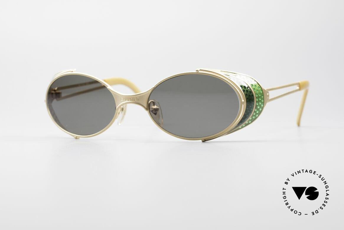 Jean Paul Gaultier 56-7109 Steampunk Sonnenbrille, vintage GAULTIER Sonnenbrille aus den frühen 90ern, Passend für Herren und Damen