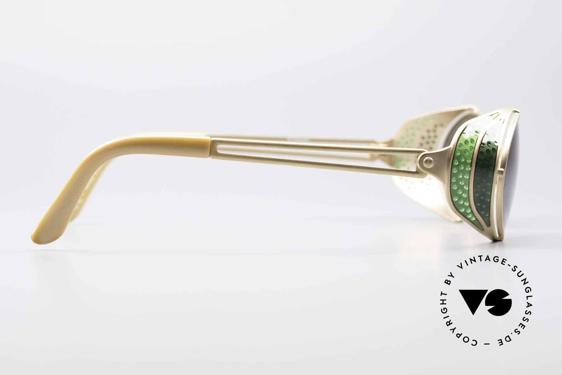Jean Paul Gaultier 56-7109 Steampunk Sonnenbrille, Größe: medium, Passend für Herren und Damen