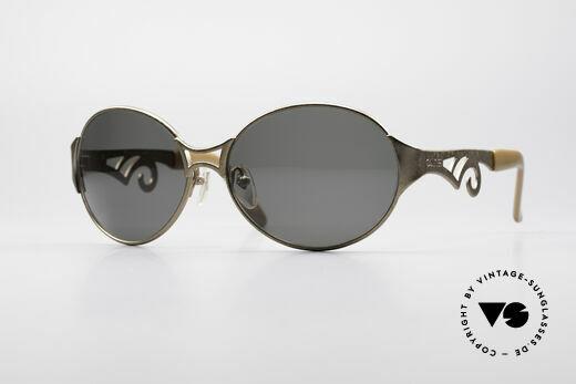 Jean Paul Gaultier 56-6108 Vintage Damen Sonnenbrille Details