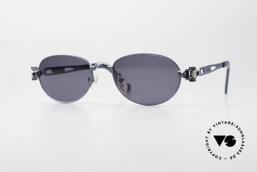 Jean Paul Gaultier 56-8102 Industrial Vintage Brille Details