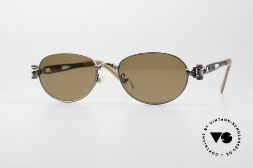 Jean Paul Gaultier 56-8102 Steampunk Vintage Brille Details
