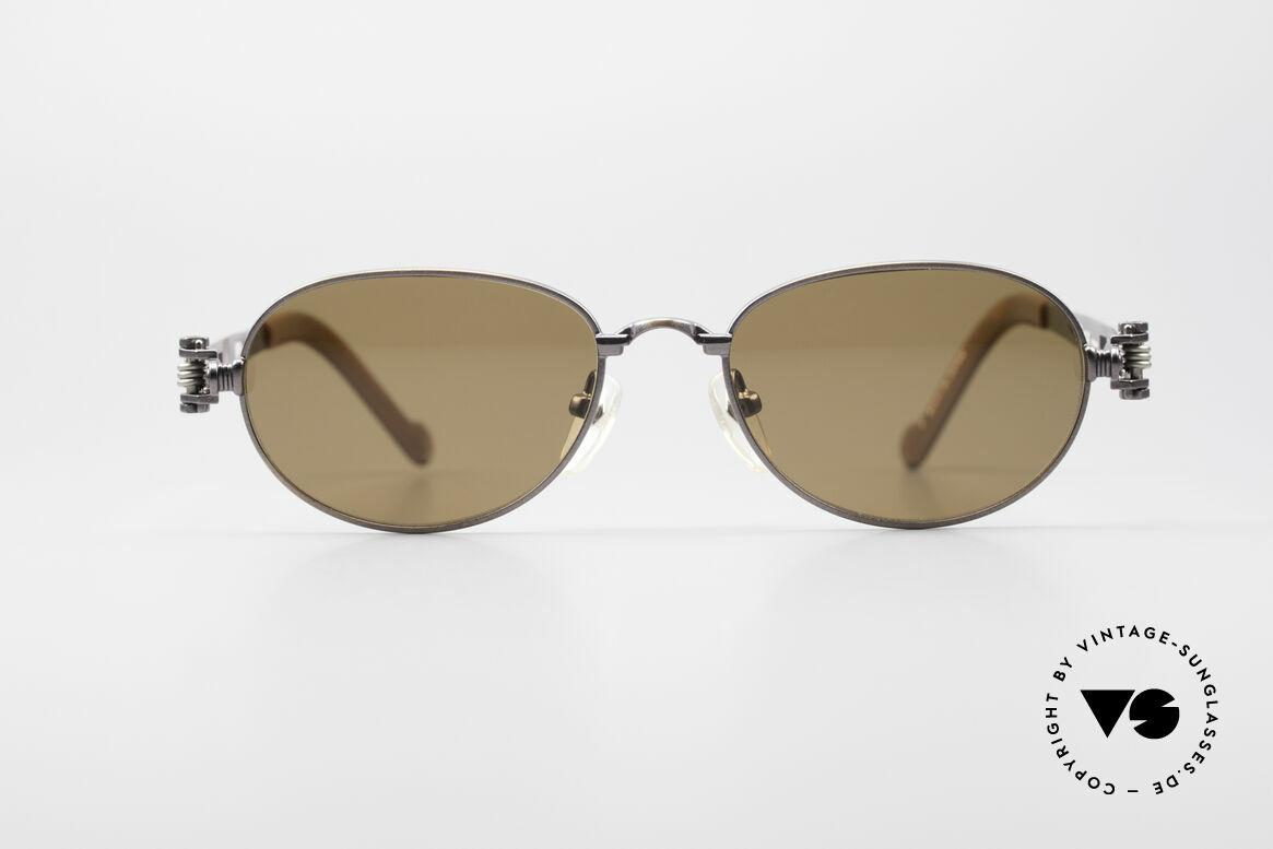 """Jean Paul Gaultier 56-8102 Steampunk Vintage Brille, """"Industrial Design"""": häufig auch 'Steampunk' genannt, Passend für Herren und Damen"""