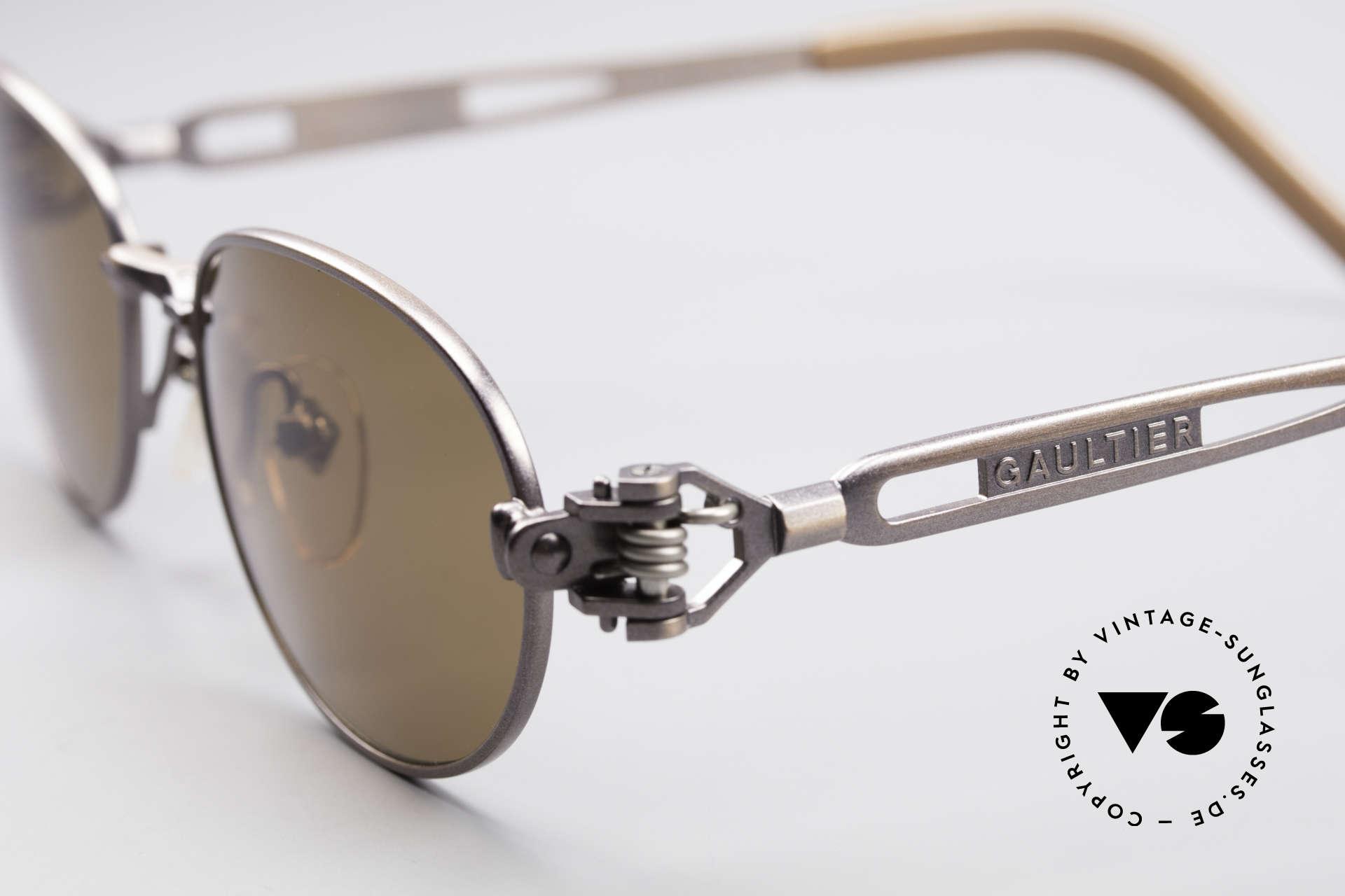 Jean Paul Gaultier 56-8102 Steampunk Vintage Brille, ungetragen; wie all unsere JPG Designer-Sonnenbrillen, Passend für Herren und Damen