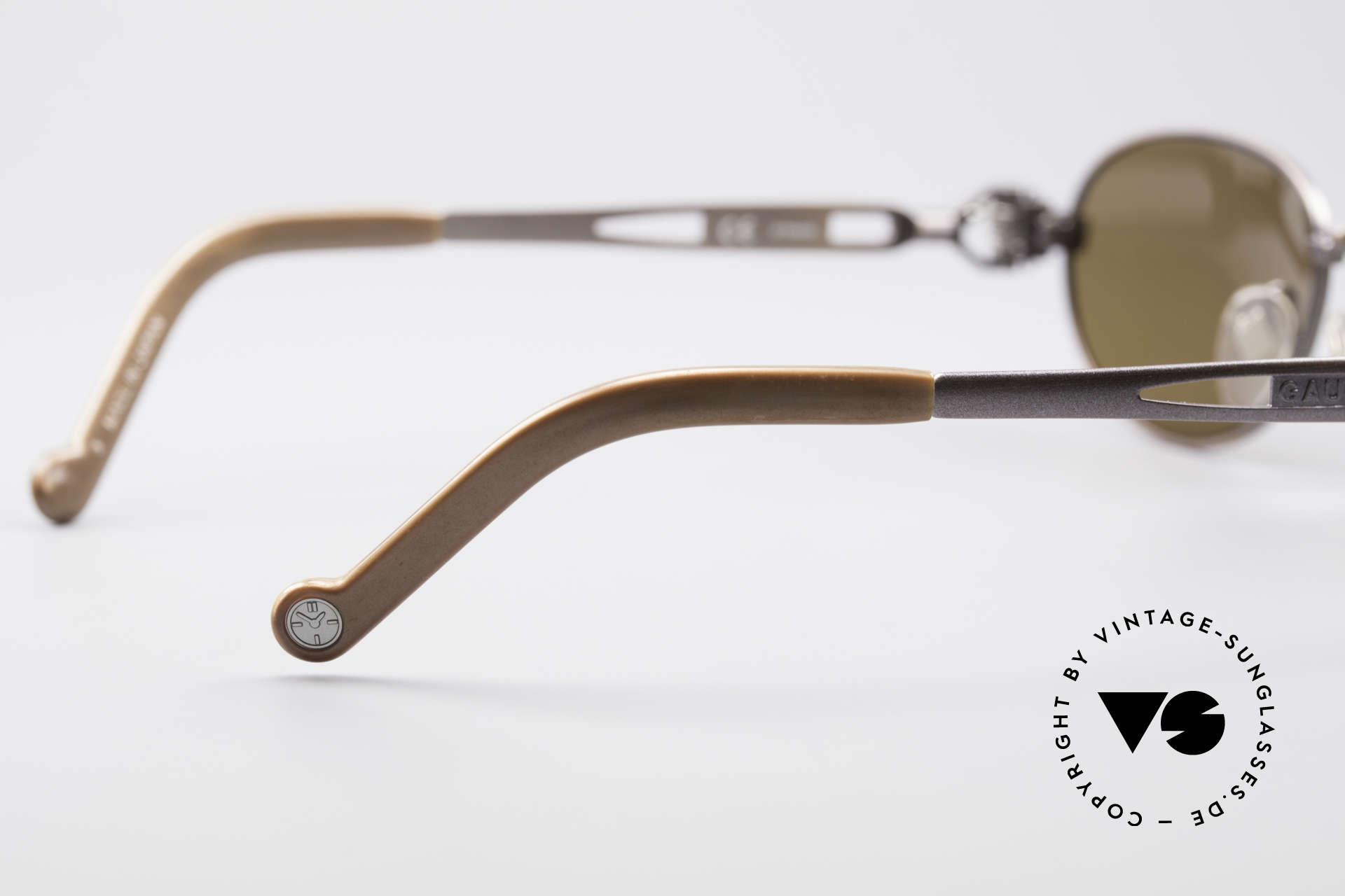Jean Paul Gaultier 56-8102 Steampunk Vintage Brille, Größe: medium, Passend für Herren und Damen