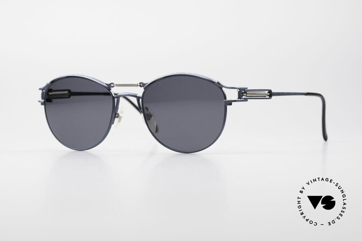 Jean Paul Gaultier 56-5107 Panto Designer Sonnenbrille, Designer-Panto-Sonnenbrille von Jean Paul Gaultier, Passend für Herren und Damen