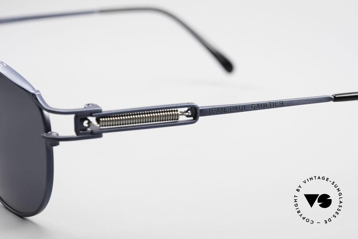 Jean Paul Gaultier 56-5107 Panto Designer Sonnenbrille, ungetragen (wie alle unsere alten JPG Sonnenbrillen), Passend für Herren und Damen