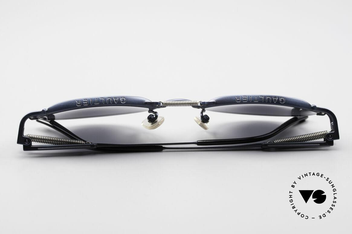 Jean Paul Gaultier 56-5107 Panto Designer Sonnenbrille, Größe: medium, Passend für Herren und Damen
