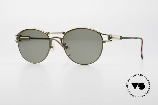 Jean Paul Gaultier 56-5107 Steampunk Panto Brille Details