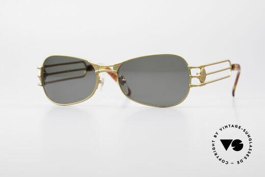 Jean Paul Gaultier 58-5107 No Retro 90er Sonnenbrille Details