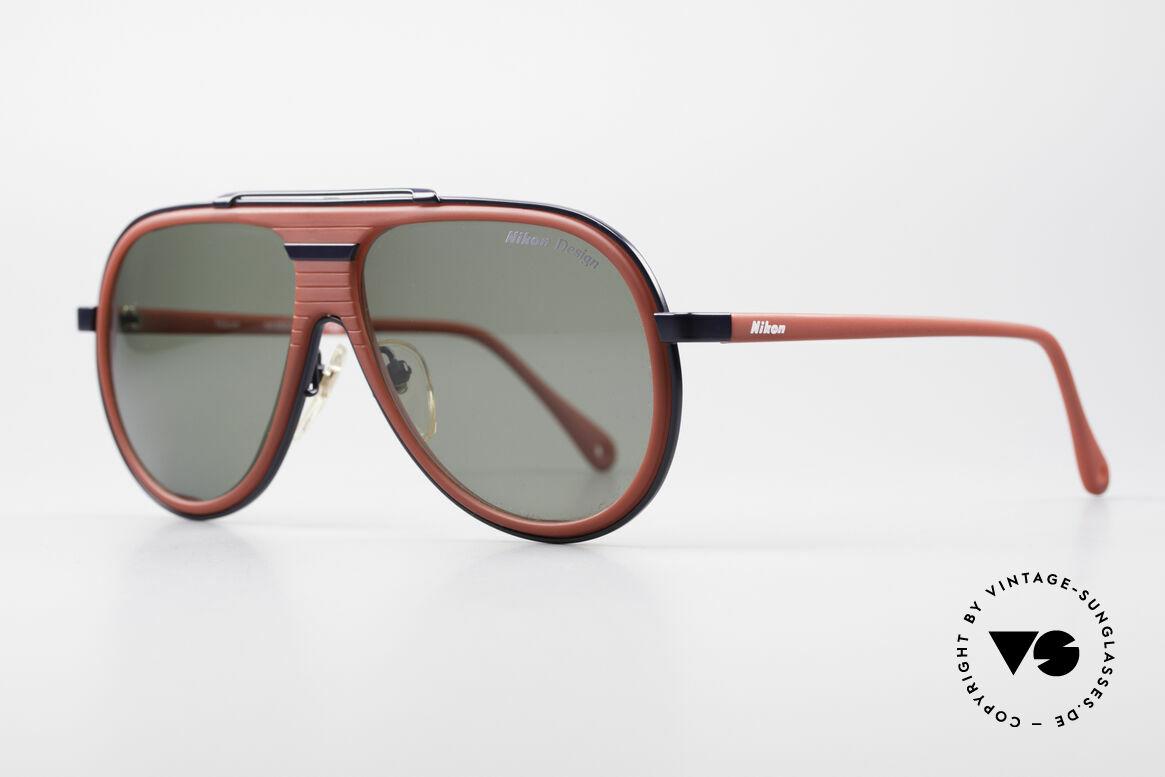 Nikon NK4800 Rare 80er Premium Brille, perfekte Passform & hoher Tragekomfort; vintage, Passend für Herren