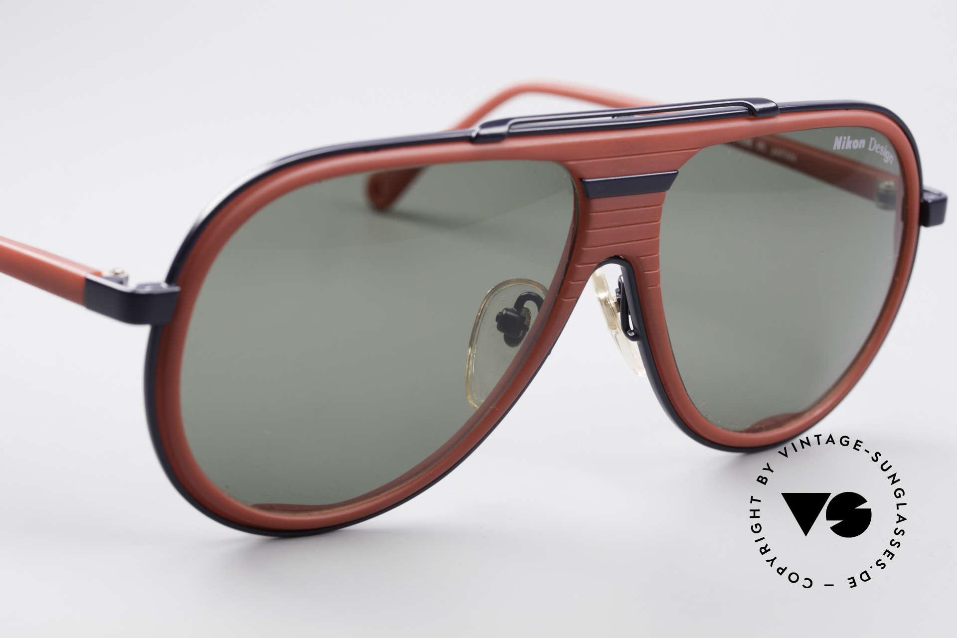 Nikon NK4800 Rare 80er Premium Brille, KEINE Retrobrille; sondern eine 30J. alte Rarität!, Passend für Herren