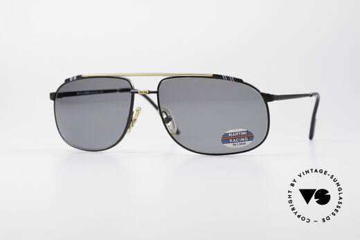 Martini Racing - Tenere Rennfahrer Sonnenbrille Details