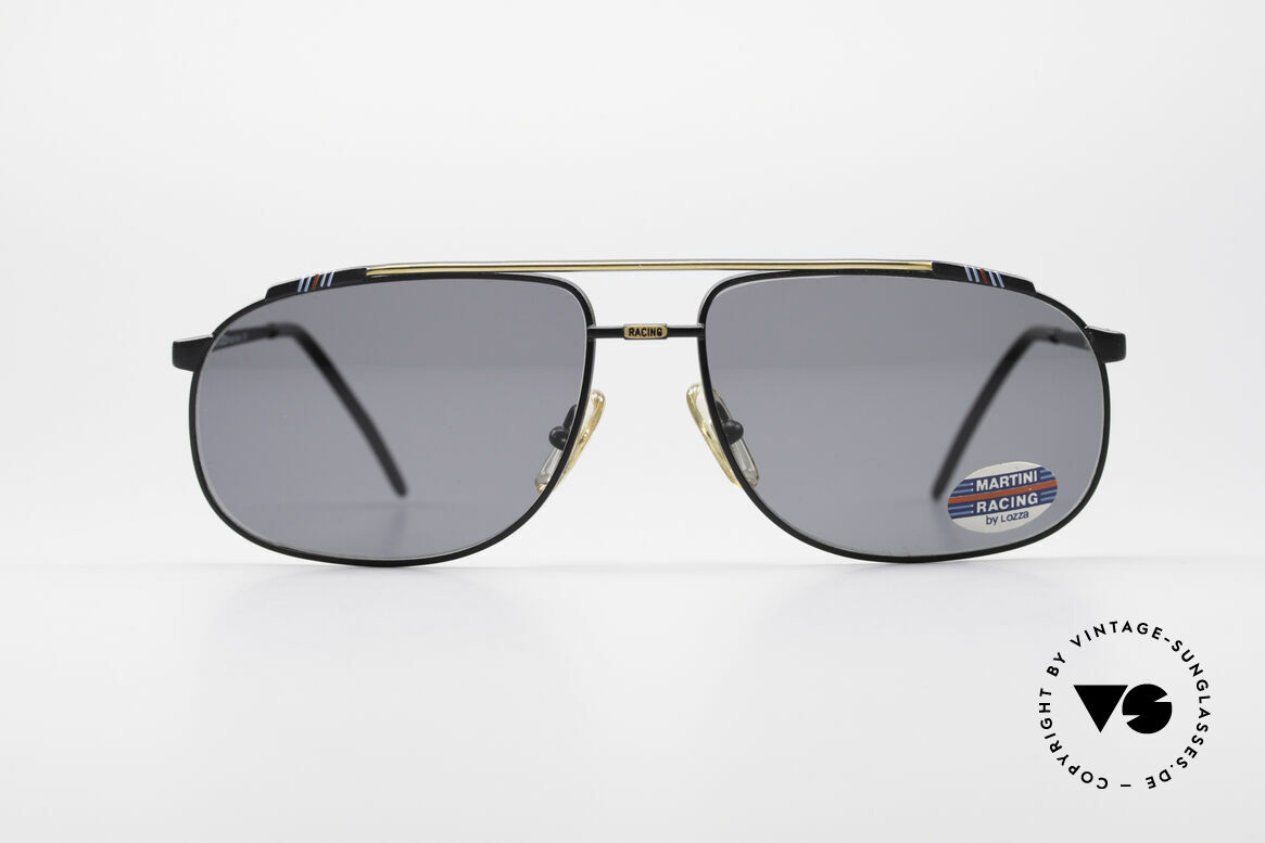 Martini Racing - Tenere Rennfahrer Sonnenbrille, Porsche Motorsport Sponsoring (24h von Le Mans, '71), Passend für Herren