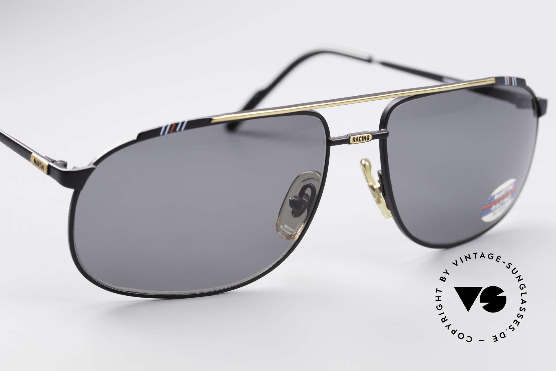 Martini Racing - Tenere Rennfahrer Sonnenbrille, ein ungetragenes Original (einzigartiges Sammlerstück), Passend für Herren