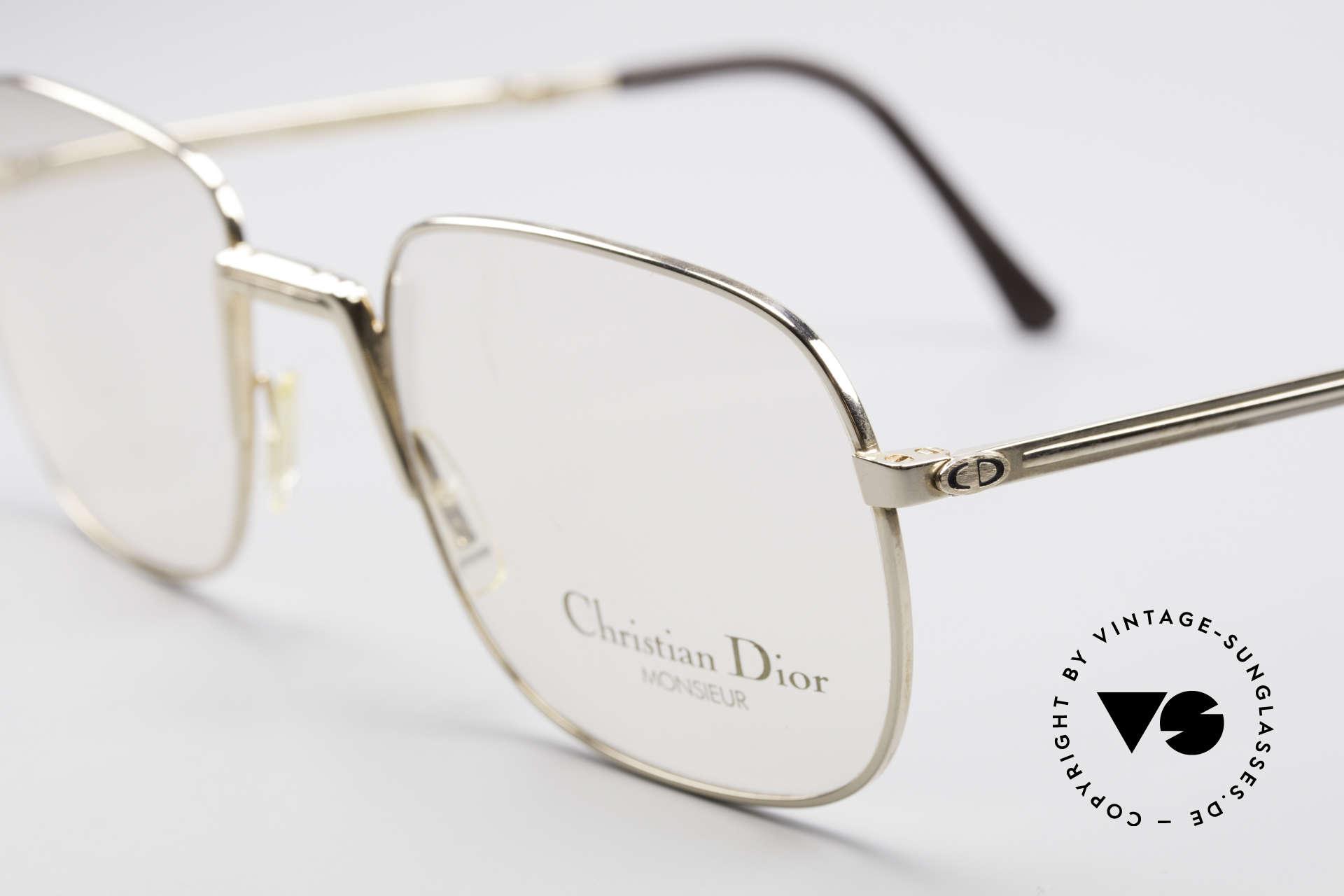 Christian Dior 2288 Monsieur Vintage Faltbrille, ungetragen; wie all unsere seltenen 80er Faltbrillen, Passend für Herren