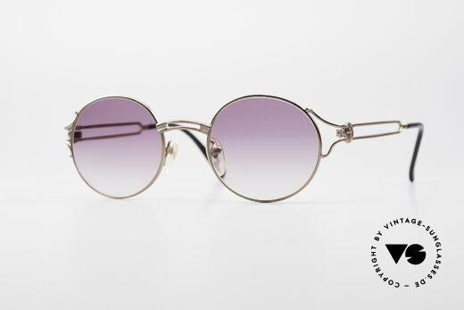 Jean Paul Gaultier 57-6102 Runde Designersonnenbrille Details