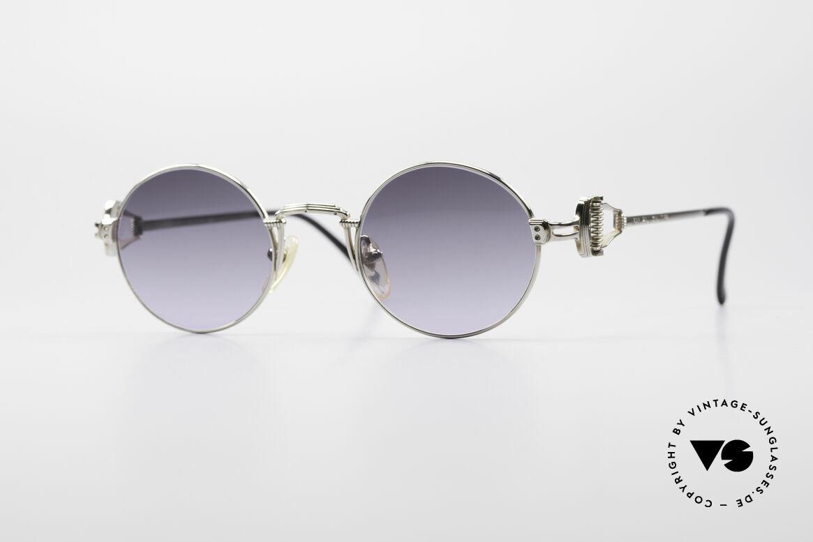 Jean Paul Gaultier 55-5106 Steampunk Sonnenbrille, kostbare Jean Paul Gaultier Sonnenbrille von ca. 1994, Passend für Herren und Damen