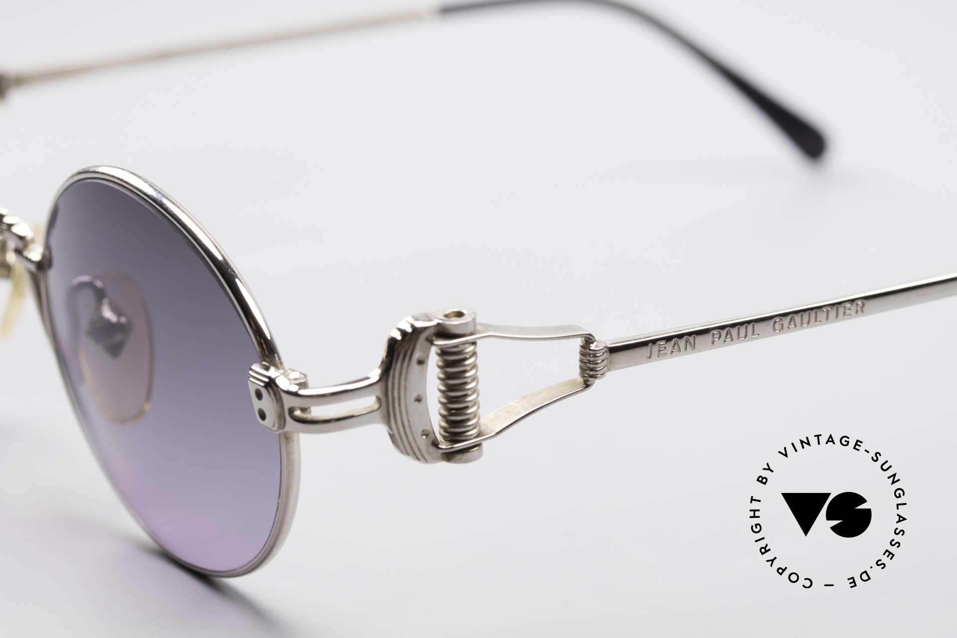 Jean Paul Gaultier 55-5106 Steampunk Sonnenbrille, nie getragen (wie alle unsere alten JPG Sonnenbrillen), Passend für Herren und Damen