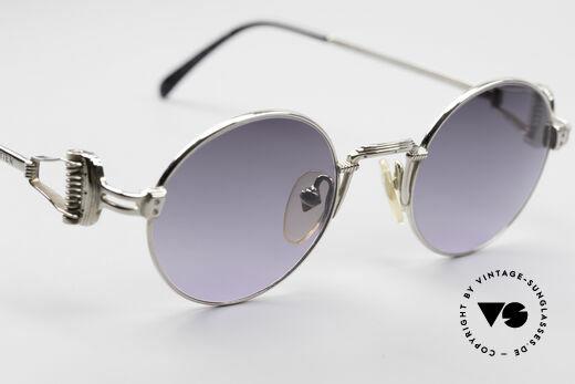 Jean Paul Gaultier 55-5106 Steampunk Sonnenbrille, KEINE Retromode, sondern ein ca. 25 Jahre altes Unikat, Passend für Herren und Damen