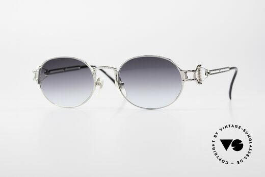 Jean Paul Gaultier 55-5110 Steampunk 90er Sonnenbrille Details