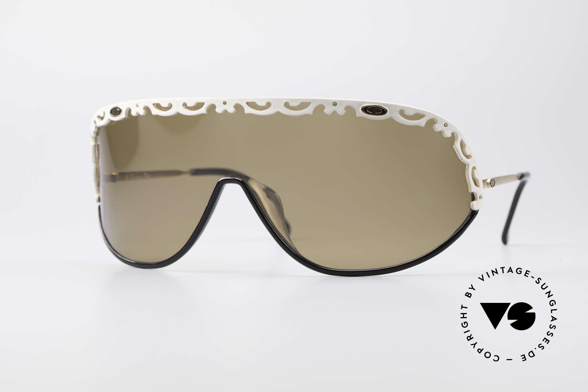 Christian Dior 2501 80er Designer Sonnenbrille, zauberhafte Christian Dior 80er vintage Sonnenbrille, Passend für Damen