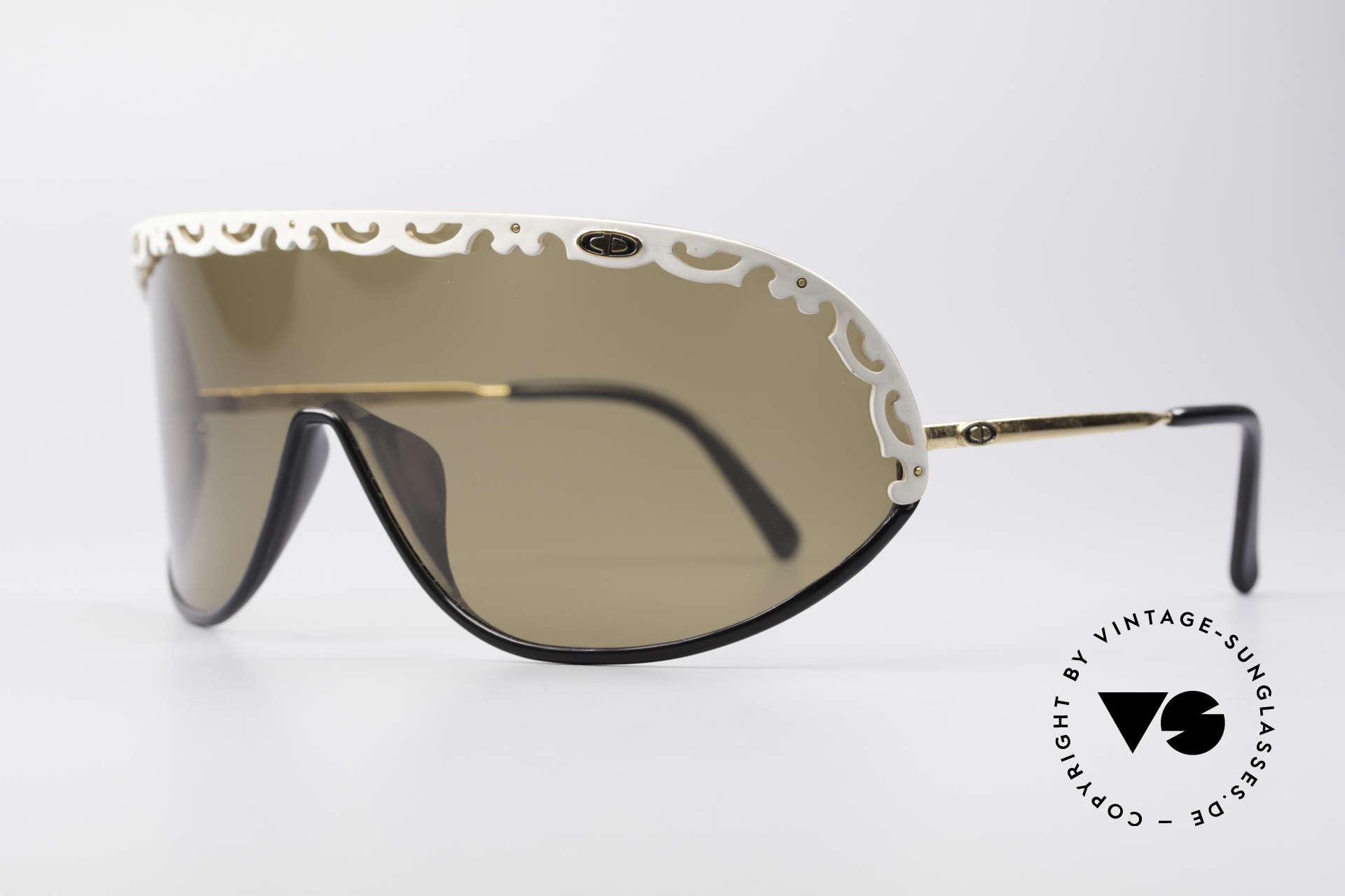 """Christian Dior 2501 80er Designer Sonnenbrille, ein vintage """"Must-have"""" für alle Mode-Liebhaberinnen, Passend für Damen"""