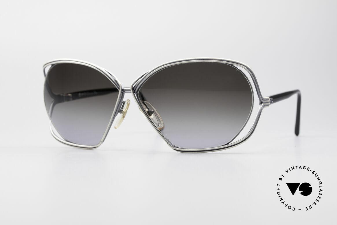Christian Dior 2499 Damen Sonnenbrille 80er, zauberhafte vintage Designer-Sonnenbrille der 80er, Passend für Damen