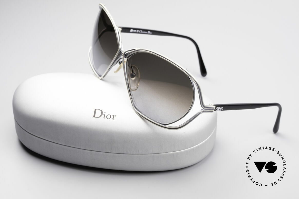 Christian Dior 2499 Damen Sonnenbrille 80er, Größe: medium, Passend für Damen