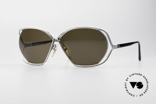 Christian Dior 2499 1980er Damen Sonnenbrille Details