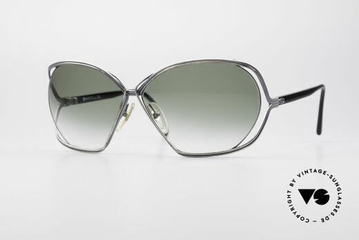 Christian Dior 2499 Damen 80er XL Sonnenbrille Details