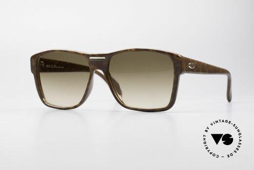 Christian Dior 2386 Monsieur 80er Herrenbrille Details