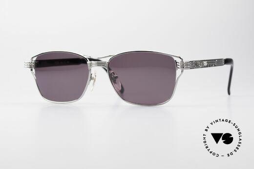 Jean Paul Gaultier 56-4173 Markante Eckige Sonnenbrille Details