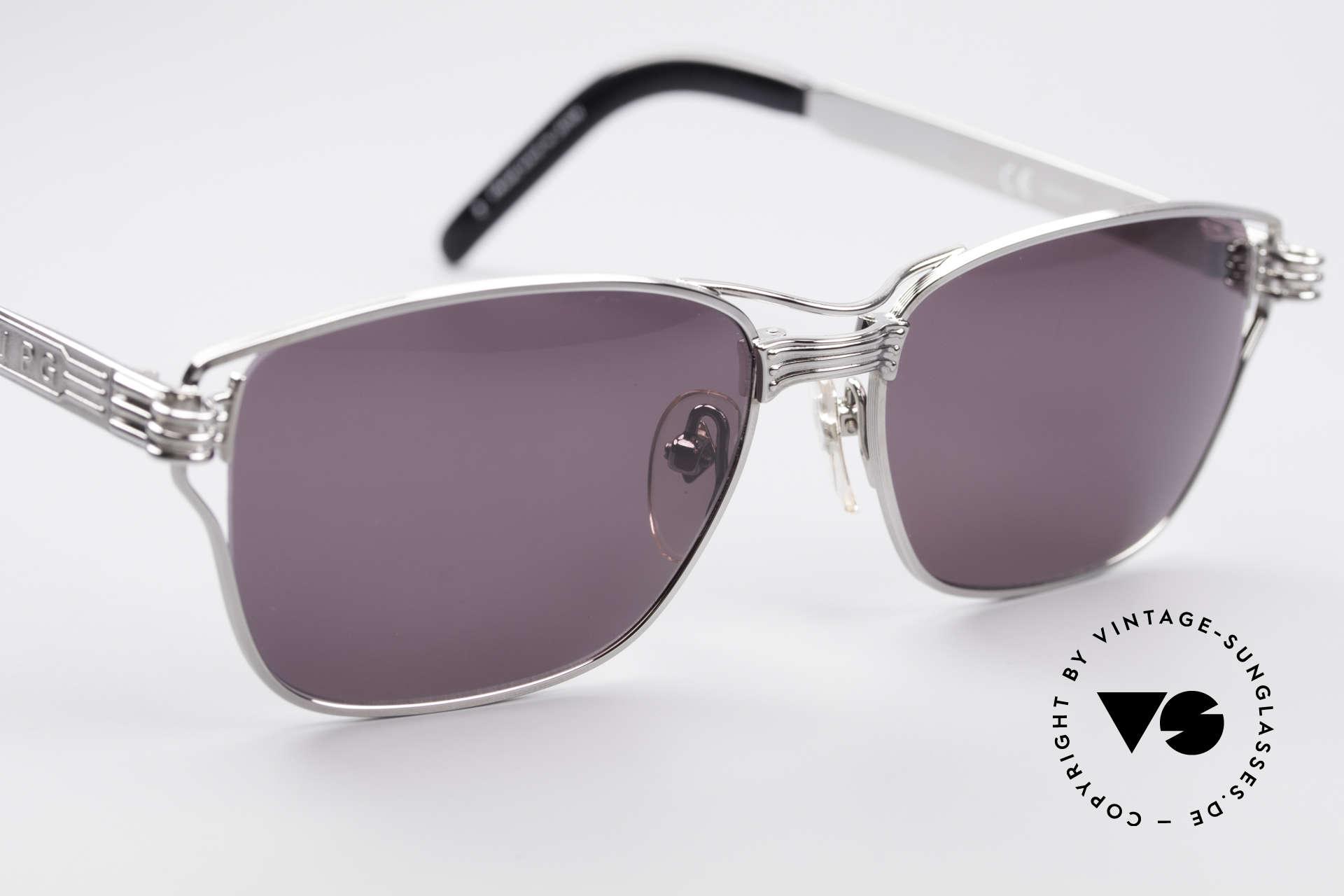 Jean Paul Gaultier 56-4173 Markante Eckige Sonnenbrille, ungetragen (wie jede alte JPG Sonnenbrille hier), Passend für Herren